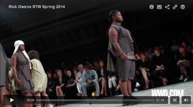 Rick Owens Paris Video