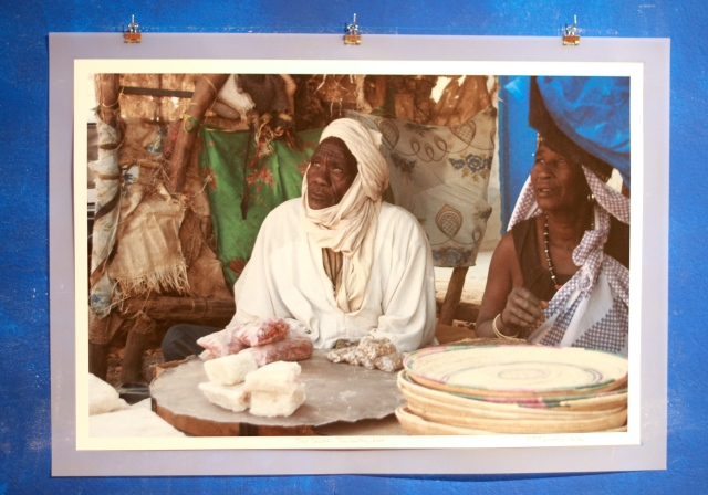 """Salt Seller and His Wife"", Timbuctou, Mali, 2008. Photograph by Lamont B. Steptoe"