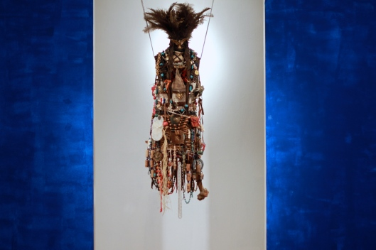 Modern Medicine Woman, 3D mixed media by Toni Nash.