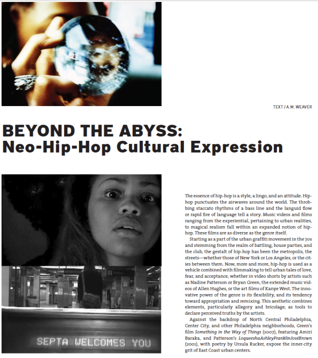 Art x Hip-Hop Edition of ART PAPERS Features Essay by AM Weaver
