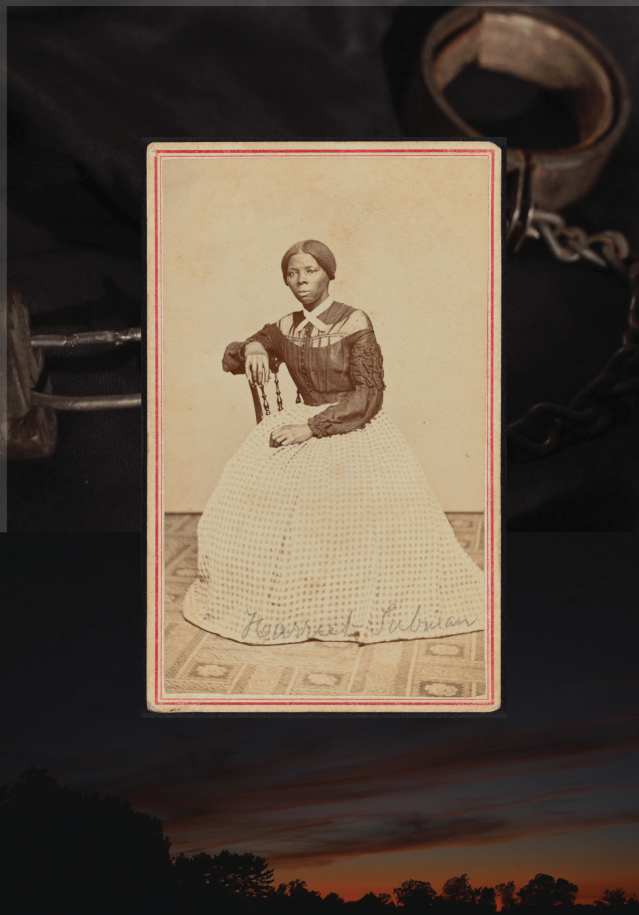 Harriet Tubman Collage Restore
