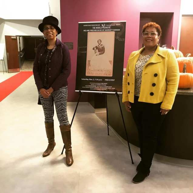 Dir. Nadine Patterson & Cinematographer Stephanie Malson at the Tull Family Theater